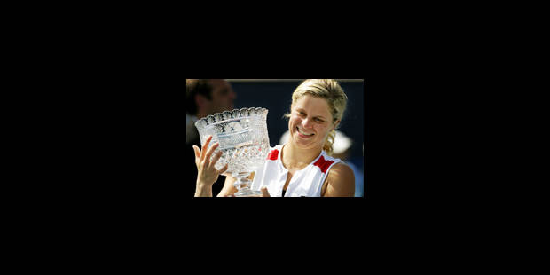 26e titre pour Kim Clijsters - La Libre