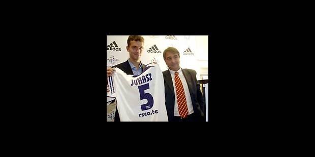 Roland Juhasz rejoint Anderlecht «pour progresser»