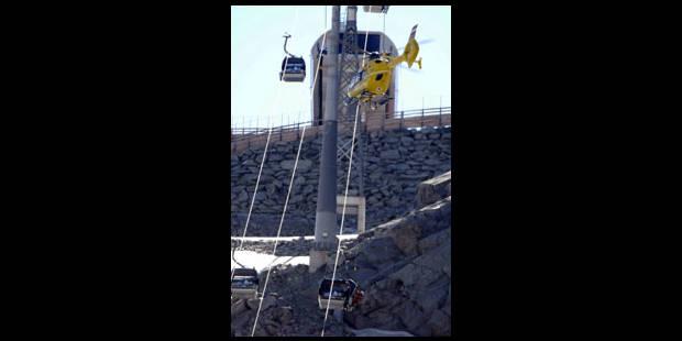 Accident de téléphérique dans le Tyrol
