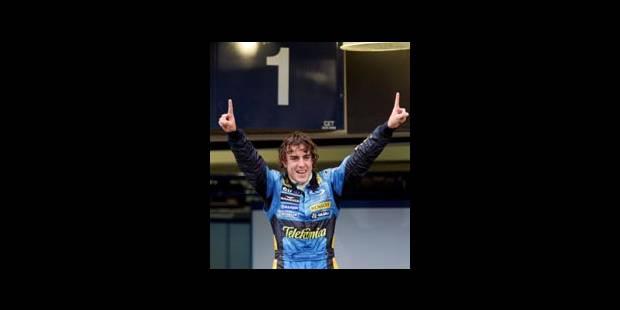 Fernando Alonso plus jeune champion du monde de l'histoire - La Libre