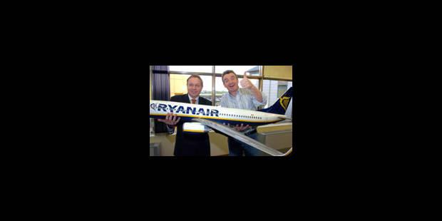 Ryanair prolonge de 10 ans son bail à Charleroi - La Libre