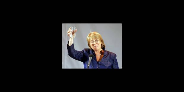 Une femme à la tête du Chili - La Libre