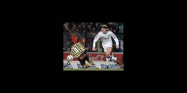 Anderlecht peut compter sur Frutos