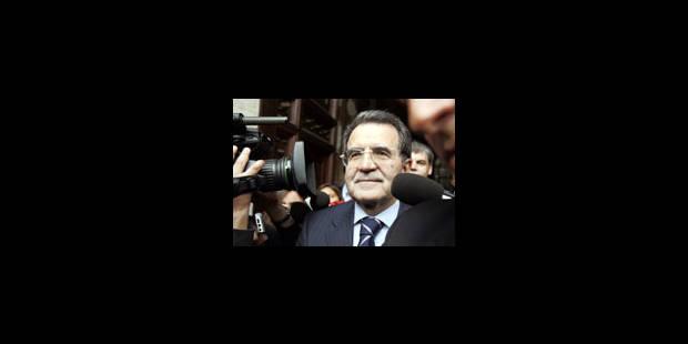 Prodi attend la confirmation de sa victoire - La Libre