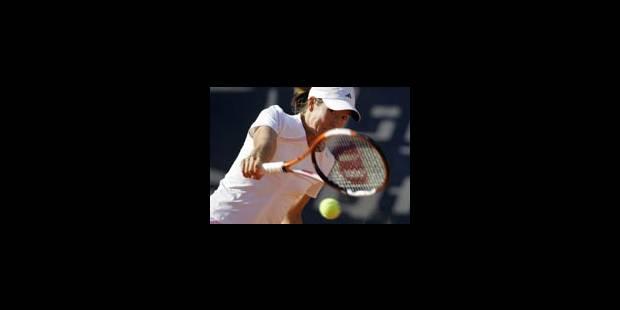 Justine Henin-Hardenne en quarts de finale - La Libre