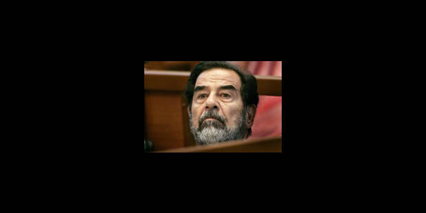 La mort requise contre Saddam - La Libre