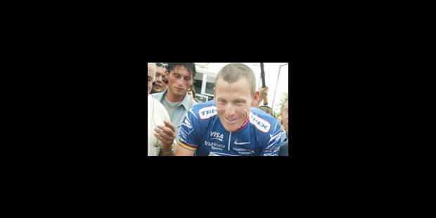 Armstrong aurait reconnu s'être dopé en 1996 - La Libre