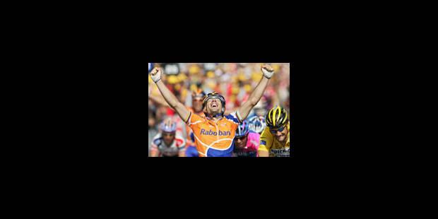 Victoire de Freire devant Boonen
