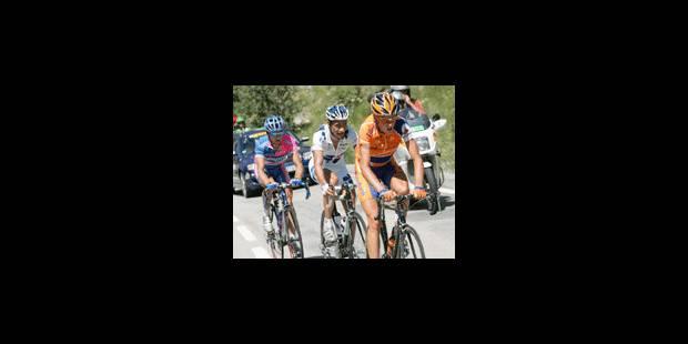Rasmussen gagne l'étape, Landis à la dérive