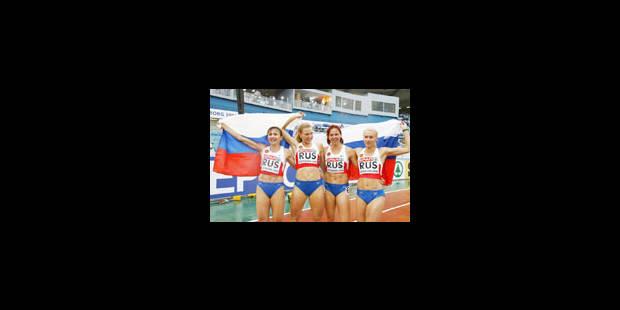 Relais 4x100m dames : La Belgique abandonne - La Libre