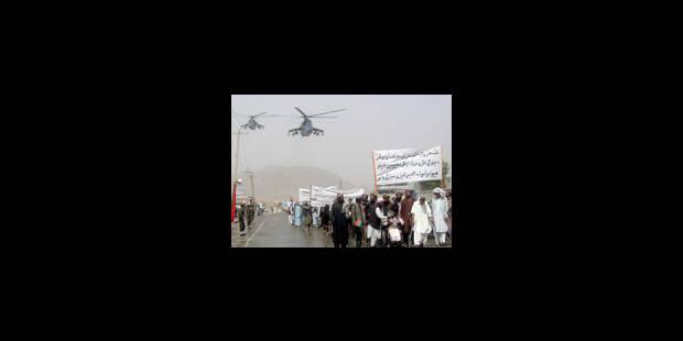 Pas de volontaires pour le sud afghan - La Libre