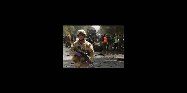 Attentat au coeur du Kaboul sécurisé - La Libre