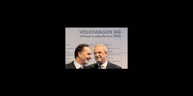 Volkswagen : un départ qui fait du bruit