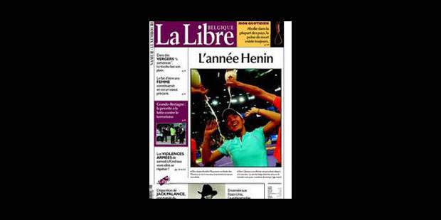 """""""La Libre"""" confirme sa progression - La Libre"""