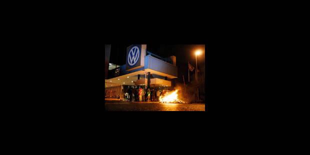 Le personnel de VW tétanisé