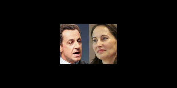 Les télés accusées de privilégier le tandem Ségo/Sarko - La Libre