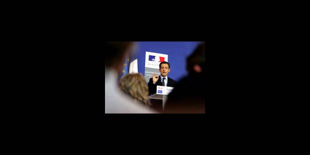 Sarkozy n'affiche qu'un bilan mitigé - La Libre
