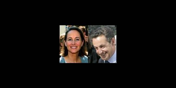 Royal et Sarkozy au second tour - La Libre
