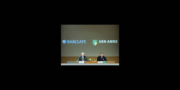 Barclays veut s'emparer d'ABN AMRO - La Libre