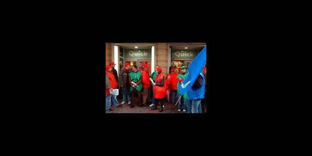 Manifestation des travailleurs à Liège - La Libre
