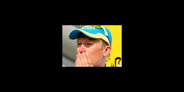Vinokourov positif, toute l'équipe Astana quitte le Tour! - La Libre