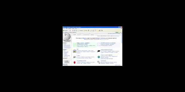 L'encyclopédie Wikipedia, notre Moyen Age virtuel - La Libre