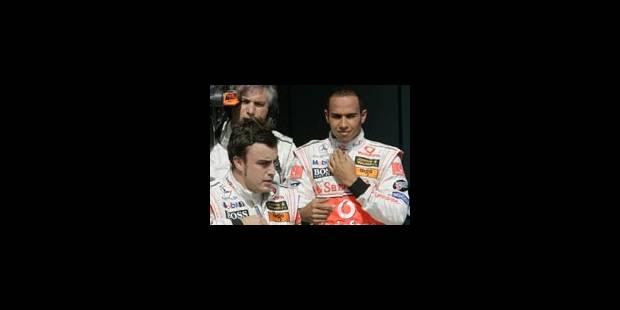 Hamilton et Alonso bons collègues - La Libre
