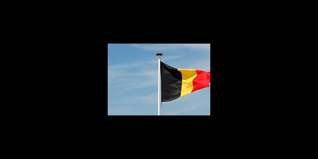Les jeunes N-VA brûlent le drapeau belge