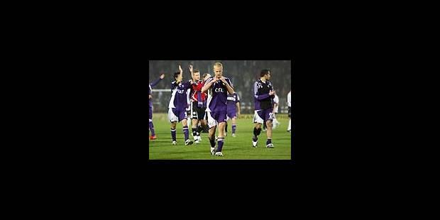 De bonnes perspectives pour Anderlecht