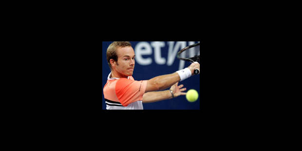 Olivier Rochus dans le Top 50, Masters en vue - La Libre