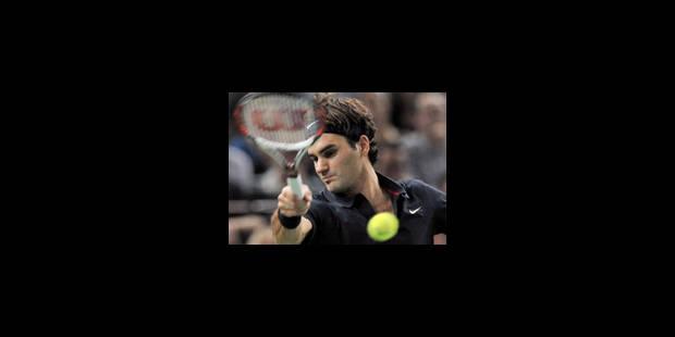 Federer avec ses proies habituelles - La Libre