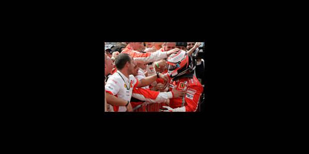 Le titre de Räikkönen toujours pendant - La Libre