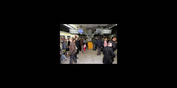Trafic ferroviaire fortement perturbé par la grève - La Libre