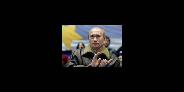 Poutine prêt à devenir le Premier ministre de Medvedev - La Libre