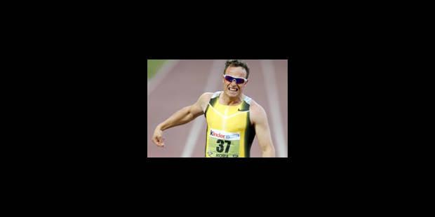 Oscar Pistorius ne peut pas courir avec les valides - La Libre