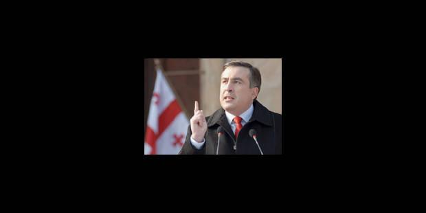 Le président Saakachvili espère améliorer les relations avec Moscou - La Libre