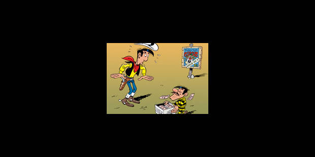 Lucky Luke contre les escrocs - La Libre