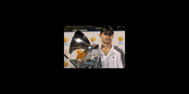 Andy Roddick, tempête du désert - La Libre