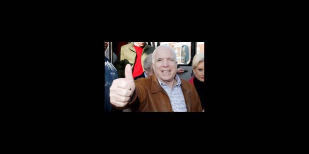 John McCain est en visite en Irak - La Libre