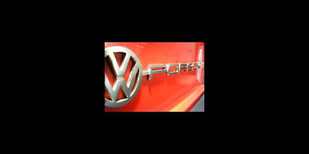 Volkswagen salue l'arrivée de Porsche