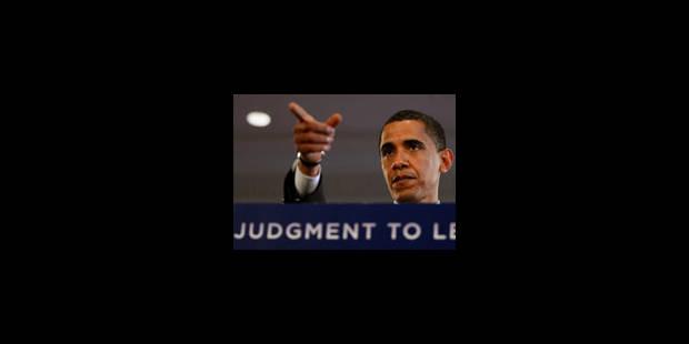 Barack Obama poursuit sur sa lancée - La Libre