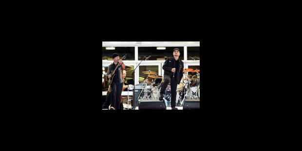 U2 signe un contrat de douze ans avec Live Nation - La Libre