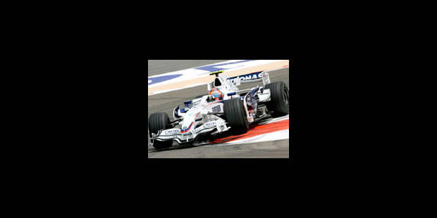 Kubica en pole position - La Libre