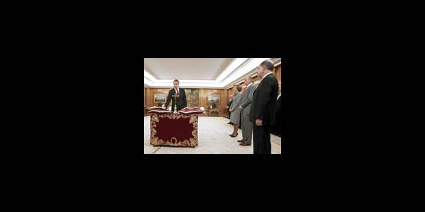 Majorité féminine au gouvernement Zapatero - La Libre
