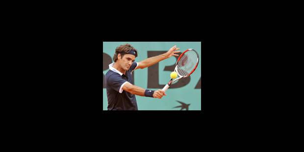 Federer passe facilement le premier tour - La Libre