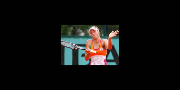 Yanina Wickmayer et Steve Darcis sortis au 1er tour - La Libre