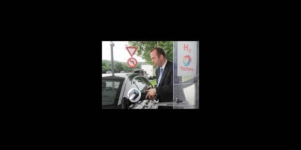 Total ouvre la première station hydrogène - La Libre