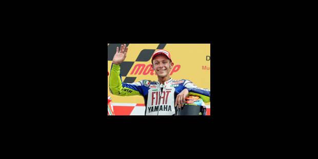 GP d'Italie: Rossi en vedette d'un triplé italien - La Libre