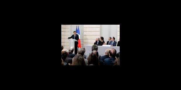 La télé publique selon Sarkozy - La Libre