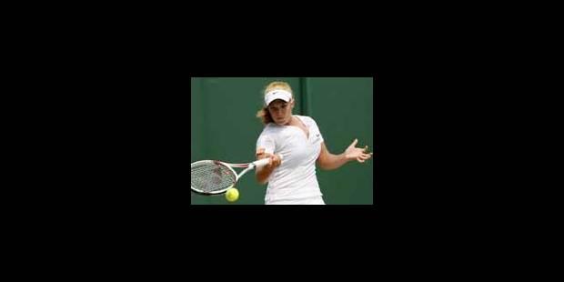 Tamaryn Hendler éliminée en demi-finales - La Libre